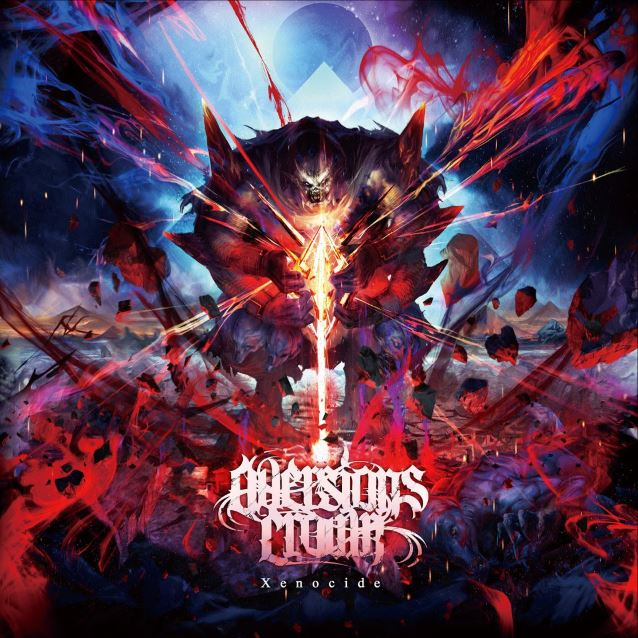 aversions crown xenocide album cover