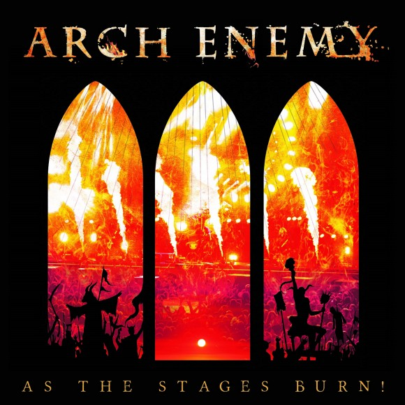 arch enemy as the stages burn album cover