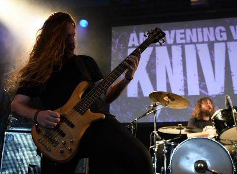 An Evening With Knives - Alcatraz Hard Rock & Metal Festival 2019